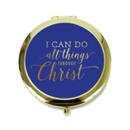 I Can Do all Things Through Christ, Compact Mirror