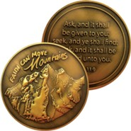 Faith Can Move Mountains Challenge Coin