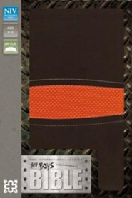 Imitation Leather Brown / Orange Book - Slightly Imperfect