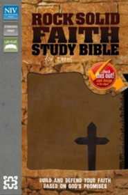 Rock Solid Faith Bible for Teens