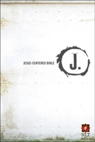 NLT Jesus Centered Bible, Hardcover