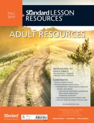 Standard Lesson Resources: Adult Resources, Fall 2019