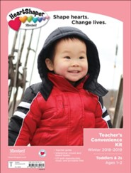 HeartShaper: Toddlers & 2s Teacher's Convenience Kit, Winter 2018-2019