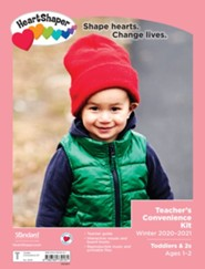 HeartShaper: Toddlers & 2s Teacher's Convenience Kit, Winter 20-21