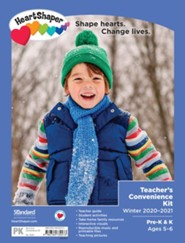 HeartShaper: Pre-K & K Teacher's Convenience Kit, Winter 20-21