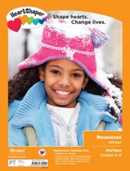 HeartShaper: PreTeen Resources, Winter 20-21