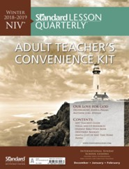 Standard Lesson Quarterly: NIV &#174 Adult Teacher's Convenience Kit, Winter 2018-19