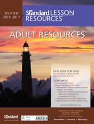 Standard Lesson Resources: Adult Resources, Winter 2018-19