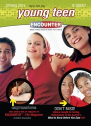Encounter: Young Teen Student, Spring 2019