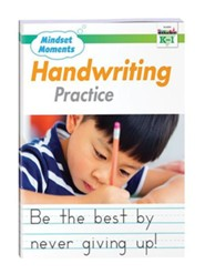 Mindset Moments: Handwriting Practice, Grades K-1