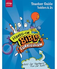 Hands-On Bible Curriculum: Toddlers & 2s Teacher Guide, Winter 2019-20