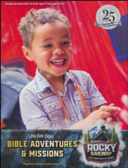 Rocky Railway: Little Kids Depot Bible Adventures & Missions Leader Manual