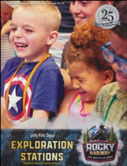 Rocky Railway: Little Kids Depot Exploration Stations Leader Manual