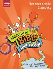 Hands-On Bible Curriculum: Grades 3 & 4 Teacher Guide, Summer 2021