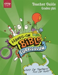 Hands-On Bible Curriculum: Grades 5 & 6 Teacher Guide, Summer 2021