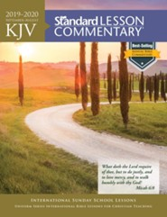2019-2020 KJV Standard Lesson Commentary, softcover