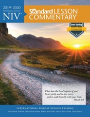 2019-2020 NIV Standard Lesson Commentary, softcover