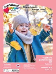 HeartShaper: Toddlers & 2s Teacher's Convenience Kit, Fall 2018