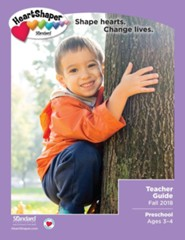 HeartShaper: Preschool Teacher Guide, Fall 2018