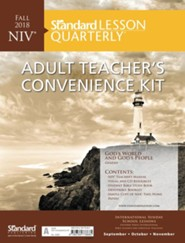 Standard Lesson Quarterly: NIV &#174 Adult Teacher's Convenience Kit, Fall 2018