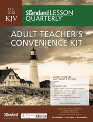 Standard Lesson Quarterly: KJV Adult Teacher's Convenience Kit, Fall 2018