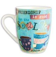 Friendship is Good For The Soul Mug With Gift Box