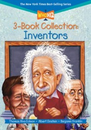 Who HQ 3-Book Collection: Inventors