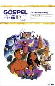The Gospel Project for Kids: Volume 1: In the Beginning, Kids Poster Pack