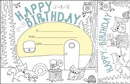 Color Me! Happy Birthday Recognition Awards & Bookmarks (Pack of 30)