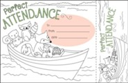 Color Me! Perfect Attendance Recognition Awards & Bookmarks (Pack of 30)