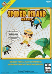 Spider Island Math 1 CD-ROM (Homeschool Edition)