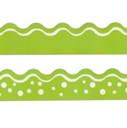 Happy Lime Double-Sided Border