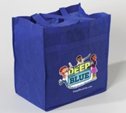 Deep Blue: Tote Bag