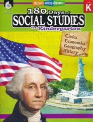 180 Days of Social Studies for Kindergarten