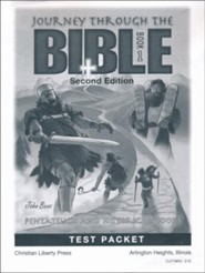 Journey Through The Bible Book 1: Pentateuch and Historical  Books Test Packet (2nd Edition)