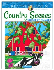 Country Scenes Color by Number