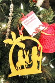Nativity Journey Ornament