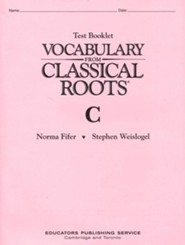 Vocabulary From Classical Roots Book C
