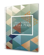 A Well-Planned Day High School 4 Year Planner (July 2019 -  June 2023)