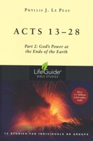 Acts 13-28 LifeGuide Bible Studies
