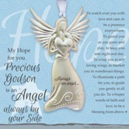 Angel Precious Godson Ornament