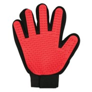Bless My Paws Grooming Glove, Red