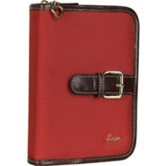 Love Compact Bible Cover, Red