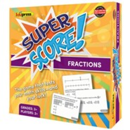 Super Score Game: Fractions, Grades 3+
