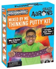 Thinking Putty Kit, Create Custom Colors, Mix And Name Five Tins Of Putty.