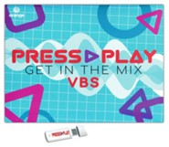 Press Play Starter Kit with USB - Orange VBS 2021