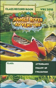 Jungle River Adventure: Class Record Book