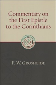Commentary on the First Epistle to the Corinthians [ECBC]