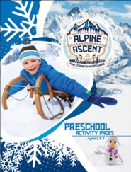 Alpine Ascent: Preschool Activity Pages