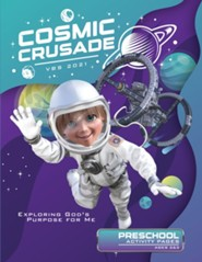 Cosmic Crusade: Preschool Activity Pages